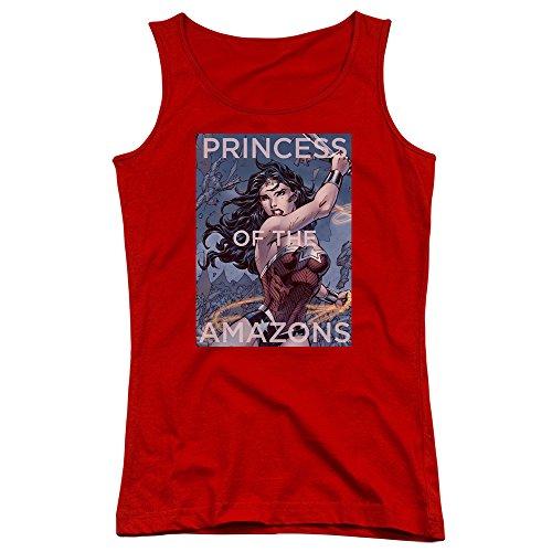Princess Of Débardeur Amazones de jeunes femmes - Justice League red