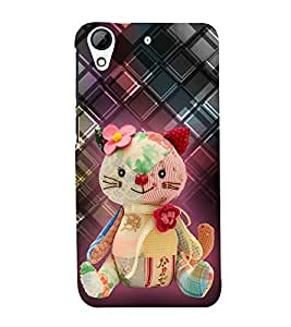 Cute Doll 3D Hard Polycarbonate Designer Back Case Cover for HTC Desire 626 :: HTC Desire 626 Dual SIM :: HTC Desire 626S :: HTC Desire 626 USA :: HTC Desire 626G+ :: HTC Desire 626G Plus