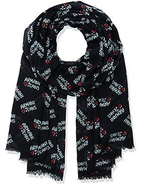 Armani Jeans Damen Schals 9241427P069, Schwarz (Nero 00020), One Size