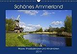 Schönes Ammerland (Wandkalender 2019 DIN A3 quer): Eine Bilderreise zu Mooren, Rhododendren und Windmühlen (Monatskalender, 14 Seiten ) (CALVENDO Orte)