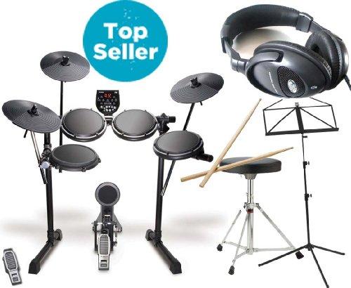 Alesis DM6 E-Drums + Digital Kopfhörer Notenstand Hocker Drumsticks GRATIS!