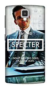 The Racoon Grip play the man hard plastic printed back case / cover for Lenovo A1000