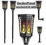 Solar-Gartenfackel Led für Außenbeleuchtung Flammenfackel XF-6005 (1 Stück)