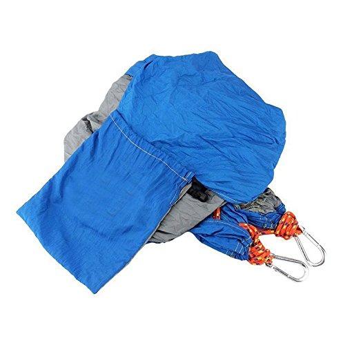 HQS® Genießen Sie den tragbaren Parachute Nylongewebe -Reisen Camping Hammock Für Doppel Zwei - 2