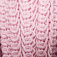 Chairs Bright Pink Gimp Braid for Furniture Upholstery Hiding The Edges Embellishment Sofa 1 Metre