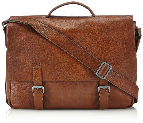 Strellson Greenford BriefBag L 4010001270 Herren Henkeltaschen 39x28x9 cm (B x H x T), Braun (cognac 703)