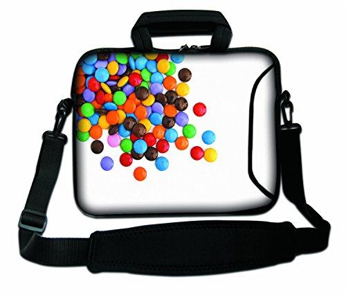 LUXBURG® 13 Zoll Schultertasche Notebooktasche Laptoptasche Tasche mit Tragegurt aus Neopren für Laptop / Notebook Computer