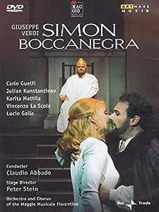 Verdi: Simon Boccanegra (Live Recording From The Teatro Comunale Florence 2002) [DVD] [2009] [NTSC]