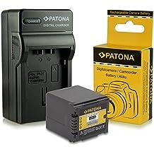 Cargador + Batería VW-VBG260 VBG-260 para Panasonic HDC-DX Serie | HDC-SD Serie| HDC-HS Serie | HDC-SX Serie | HDC-TM Serie | SDR-H Serie y mucho más… [ Li-ion; 2200mah; 7.2V ]