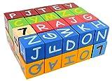 PIGLOO™ 40-Pieces Wooden ABC - 123 Blocks Set