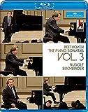 Beethoven:Piano Sonatas 3 [Rudolf Buchbinder] [C MAJOR ENTERTAINMENT: BLU RAY] [DVD]