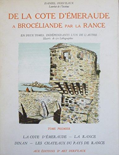 De la Côte d'Emeraude à Brocéliande par la Rance, 2 tomes