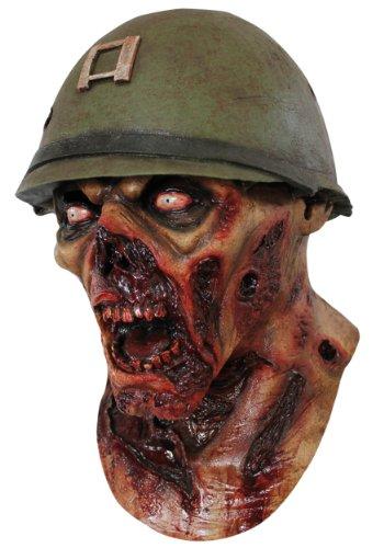CAPTAIN Lester ARMEE Zombie KOPF MASKE - LATEX HOHE QUALITÄT, HALLOWEEN ODER SPIELEN