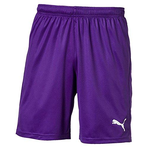 PUMA Herren Liga Core Shorts, Prism Violet White, XL