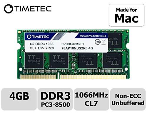 Timetec Hynix IC compatible with Apple 4GB DDR3 PC3-8500 segunda mano  Se entrega en toda España