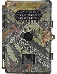 FULLLIGHT TECH Wildkamera 8 MP Auflösung 720P HD Wasserdicht und zur Überwachung und zum Auskundschaften Spiel und Jagd Trail Nachtsicht Kamera mit Bewegungssensor 1 Jahr Produkt Garantie