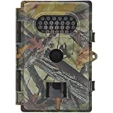 FULLLIGHT TECH Game & Trail Camera with Infrared Night Vision 8MP 720P Waterproof HD Outdoor Wildlife Scouting Surveillance Camera with Motion Sensor