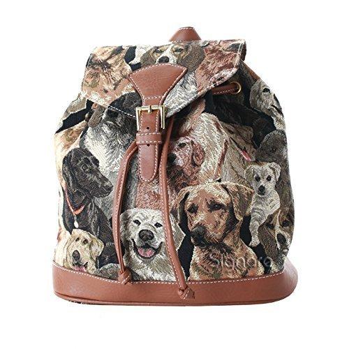 Signare - Petit sac à dos - Femme - Canevas Fashion - Labrador