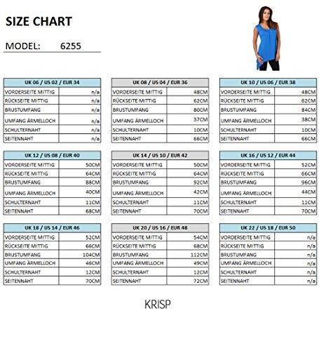 KRISP® Umstandsmode Asymmetrisches Longtop Jersey Oberteil Petrol (6255)