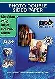 Photo Paper Direct Fotopapier beidseitig matt, DIN A3+ (330mm x 483mm), 210g/m², 50 Blatt