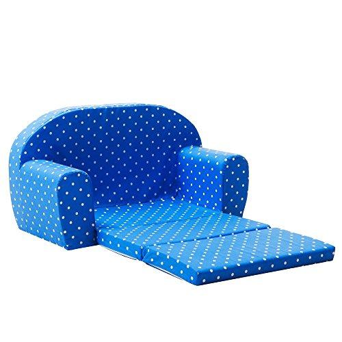 Gepetto 05.07.04.04 Mini Kindersofa, blau