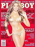 US Playboy Magazin August 2006 Zeitschrift Original Ausgabe USA 8/2006 Nicole Voss Girls of Orange County, Stacey Dash, Tribute to the bikini Denis Leary Luke Wilson