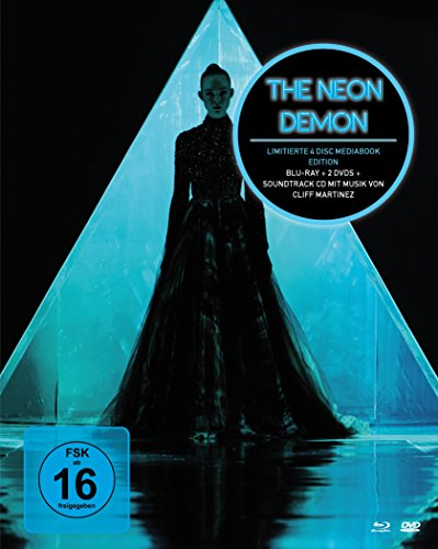 The Neon Demon - Mediabook (+ 2 DVDs) (+ Soundtrack-CD) [Blu-ray]