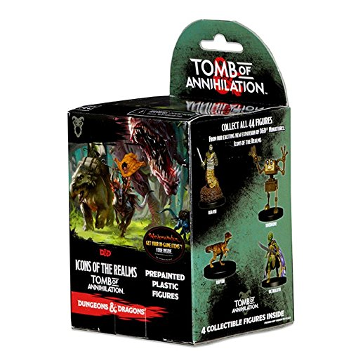 Dungeons&Dragons: Icons of The Realms: Booster Pack - Tomb of Annihilation (Dnd Figuren)