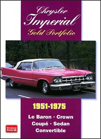 Chrysler Imperial 1951-1975 Gold Portfolio