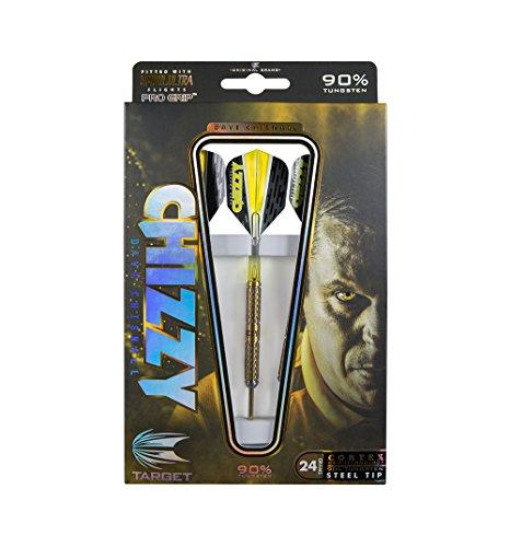 Target Darts Dartpfeile Chizzy Cortex Stahl Tip Darts, Chizzy Cortex 24G Steel Tip Darts, 24g