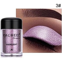 Gaddrt Femmes cosmétiques yeux ombre couleur maquillage Pro paillettes poudre à paupières (C)