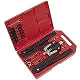 Sealey AK39602 - Set de remachadora y remaches