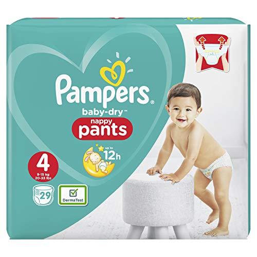 Preisvergleich Produktbild Pampers Baby-Dry Pants/Windeln, Größe 4, mit Luftkanälen, 29 Stück