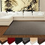 Tappeto in sisal naturale casa pura® linea Amazonas   Grey   Antiscivolo   70x130Cm