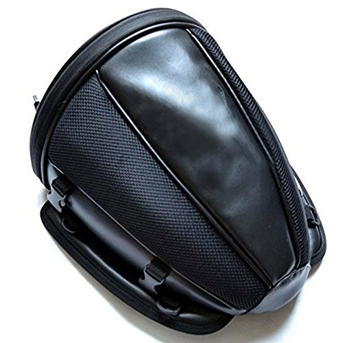 ETbotu moto posteriore sedile borsa impermeabile bagagli Tail Bags casco bis
