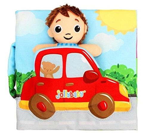 Speedmar Verschiedene Geschenke für Ihre Babys Nettes Stoffbuch-Baby-Intelligenz-Entwicklung, die Baby-Stoff-Buch lernt