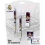 Real Madrid - Set en blíster bolígrafo y portaminas (CYP Imports GS-403-RM)
