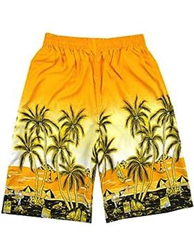 1pc Summer Beach Shorts Hombres Trajes de baño casual shorts macho Boxer shorts pantalones pantalones pantalones...