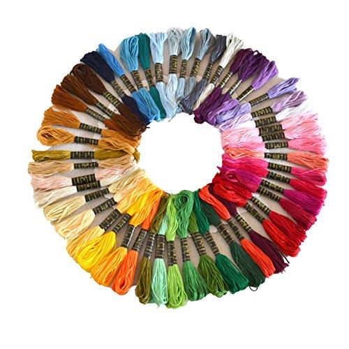Croce Floss 50/100/150matassine Premium Colore Arcobaleno ricamo
