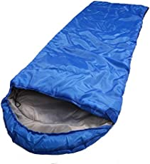 ZIGLY Mummy Sleeping Bag with Water-Resistant Shell for Men and Women Travelling Gear (Color May Vary
