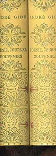 Poesie, journal, souvenirs / Edition illustre d'un frontispice par Dunoyer de Segonzac, et de 29 aquarelles ou gouaches par Brayer, Brianchon, Chapelain-Midy, Grau-Sala. / 2 tomes