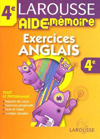 Descargar Libro Aide mémoire collèges : Anglais, 4ème de Larousse