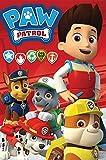 Paw Patrol–Fleecedecke rot pat' Patrouille Paw Patrouille