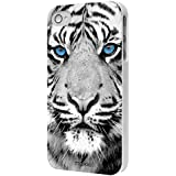 MOXIE Coque Blue Eyes Collection Tigre pour iPhone 4/4S