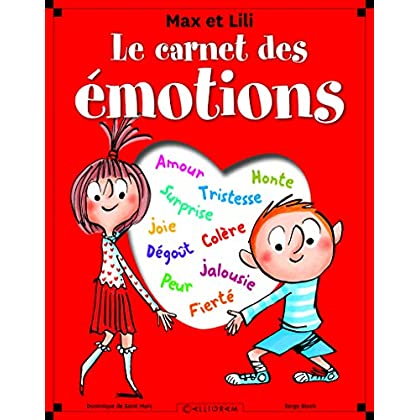 Le Carnet des émotions - Max et Lili