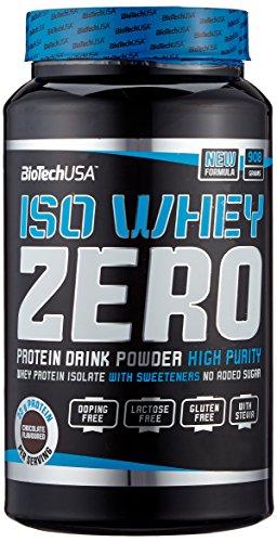 Biotech USA Iso Whey Zero Schokolade, 1er Pack (1 x 908 g) -