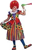 Forum Novelties Little Designer Collection Clown Princess Child Costume, Large