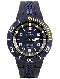 Alpha Saphir Herren-Armbanduhr 262C