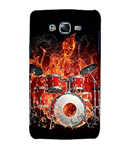 printtech Skeleton Music Orchestra Back Case Cover for Samsung Galaxy Core i8262 / Samsung Galaxy Core i8260