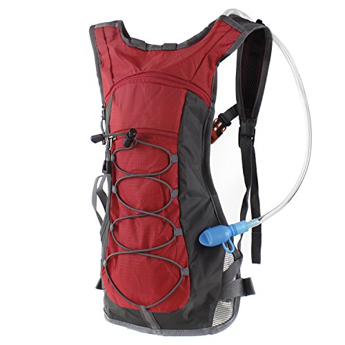 Hydration Pack Backpack with 70 oz 2L Water Bladder for Running Hiking Cycling Climbing Camping Racing